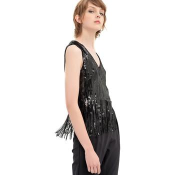 Oblečenie Ženy Blúzky Fracomina FR20SP503 čierna