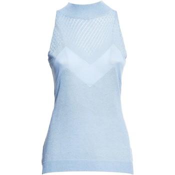 Oblečenie Ženy Blúzky Fracomina FR20SM812 Modrá
