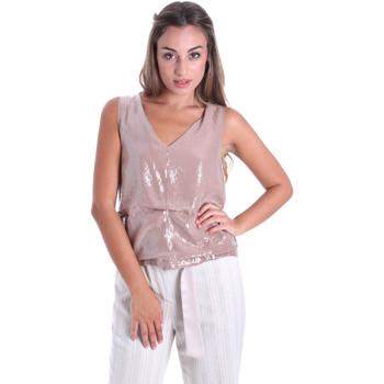 Oblečenie Ženy Blúzky Fracomina FR20SMARISA Béžová
