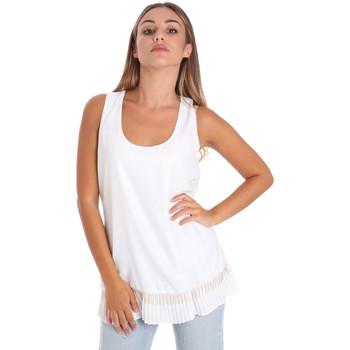 Oblečenie Ženy Blúzky Fracomina FR20SM014 Biely