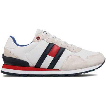 Topánky Muži Módne tenisky Tommy Hilfiger EM0EM00492 Biely