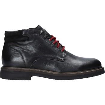 Topánky Muži Polokozačky Exton 852 čierna