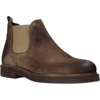 Topánky Muži Polokozačky Exton 850 Hnedá