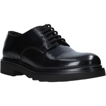 Topánky Muži Derbie Exton 608 čierna