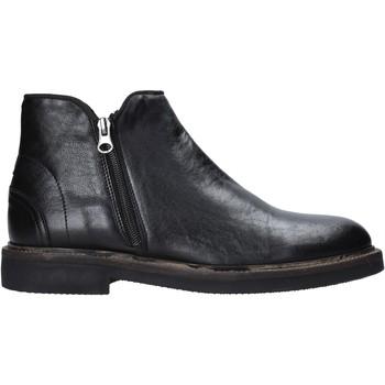 Topánky Muži Polokozačky Exton 851 čierna