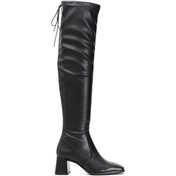 Topánky Ženy Cizmy Nad Kolenà Café Noir LD914 čierna