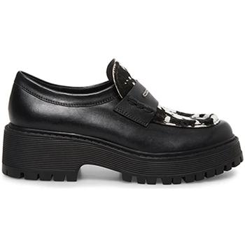 Topánky Ženy Mokasíny Steve Madden SMSMALVERNC-BLKWHT čierna
