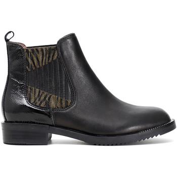 Topánky Ženy Polokozačky Café Noir EB462 čierna