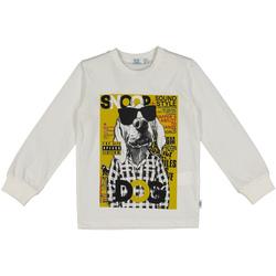 Oblečenie Deti Mikiny Melby 40C0062 Biely