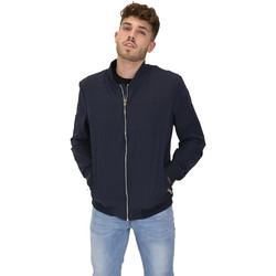 Oblečenie Muži Bundy  Les Copains 9UB081 Modrá