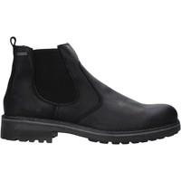 Topánky Muži Polokozačky IgI&CO 6123000 čierna