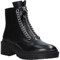 Topánky Ženy Polokozačky Apepazza F0COMBAT10/LEA čierna
