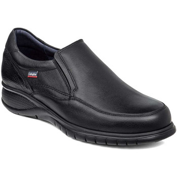 Topánky Muži Mokasíny CallagHan 12701 čierna
