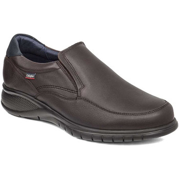 Topánky Muži Mokasíny CallagHan 12701 Hnedá