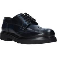 Topánky Muži Derbie Exton 606 čierna