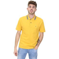 Oblečenie Muži Polokošele s krátkym rukávom Les Copains 9U9022 žltá