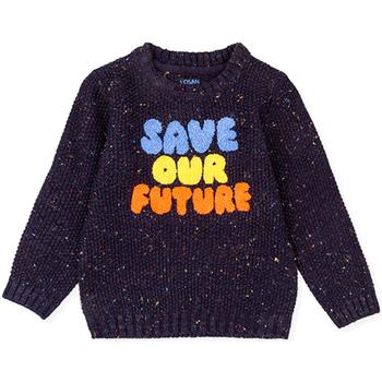 Oblečenie Deti Svetre Losan 025-5001AL Modrá