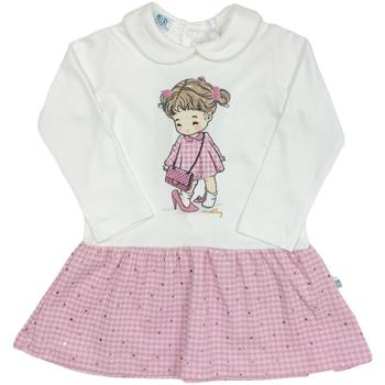 Oblečenie Dievčatá Krátke šaty Melby 20A0011 Biely