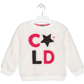 Oblečenie Deti Mikiny Losan 026-6028AL Biely