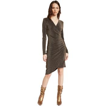 Oblečenie Ženy Krátke šaty Gaudi 021FD14003 Zlato