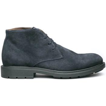 Topánky Muži Polokozačky NeroGiardini I001651U Modrá