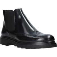 Topánky Muži Polokozačky Exton 607 čierna