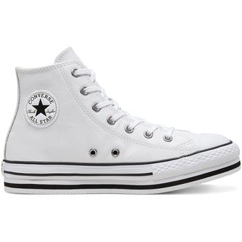 Topánky Deti Členkové tenisky Converse 666392C Biely