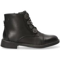Topánky Dievčatá Polokozačky Chika 10 54214 Čierna
