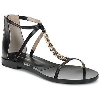 Topánky Ženy Sandále Michael Kors ECO LUX Čierna