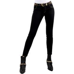 Oblečenie Ženy Rifle Slim  Versace A1HVB02HAPV4P899 čierna