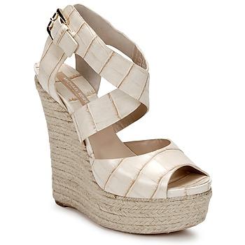 Topánky Ženy Sandále Michael Kors STAMPA IBRAHIM Krémová