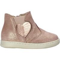 Topánky Dievčatá Polokozačky Falcotto 2501847 02 Ružová