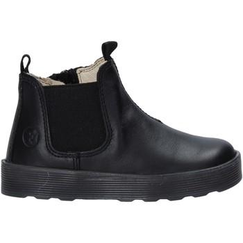 Topánky Dievčatá Polokozačky Falcotto 2501860 01 čierna