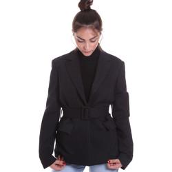 Oblečenie Ženy Saká a blejzre Fracomina F120W07022W040D4 čierna