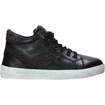 Topánky Deti Členkové tenisky Grunland PO1499 čierna