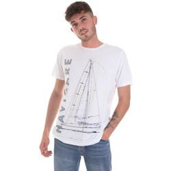 Oblečenie Muži Tričká s krátkym rukávom Navigare NV31109 Biely