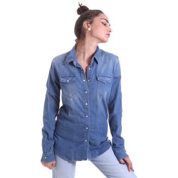 Oblečenie Ženy Košele a blúzky Fornarina BE174577D884AS Modrá