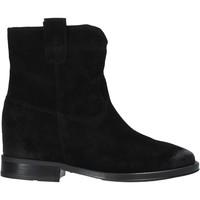 Topánky Ženy Polokozačky Pregunta MAA3307 čierna