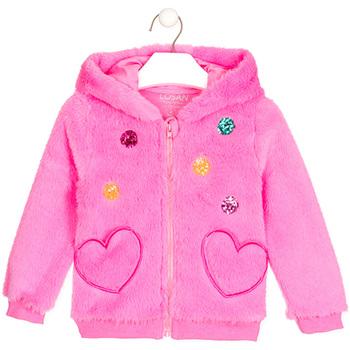 Oblečenie Dievčatá Cardigany Losan 026-0000AL Ružová