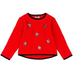 Oblečenie Deti Svetre Losan 026-5000AL Červená