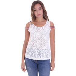 Oblečenie Ženy Blúzky Fornarina BE175J89JG1309 Biely
