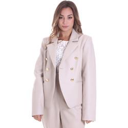 Oblečenie Ženy Saká a blejzre Fracomina F120W07023E00701 Béžová