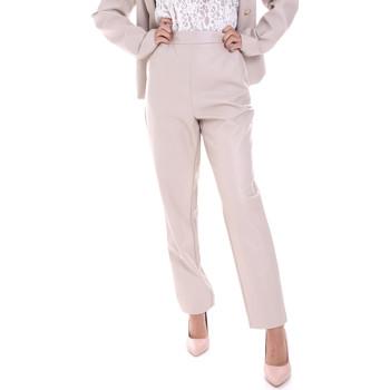 Oblečenie Ženy Nohavice Chinos a Carrot Fracomina F120W10062E00701 Béžová