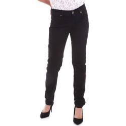 Oblečenie Ženy Nohavice päťvreckové Gaudi 821BD25025 čierna