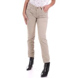 Oblečenie Ženy Nohavice päťvreckové Gaudi 821BD25025 Béžová