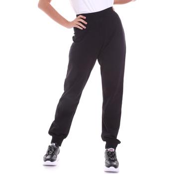 Oblečenie Ženy Nohavice Key Up 5FI47 0001 čierna