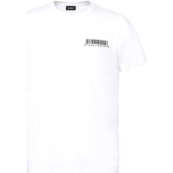 Oblečenie Muži Tričká s krátkym rukávom Diesel A00582 0HAYU Biely