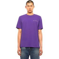 Oblečenie Muži Tričká s krátkym rukávom Diesel A01031 0PATI Fialový