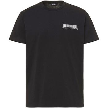 Oblečenie Muži Tričká s krátkym rukávom Diesel A00582 0HAYU čierna