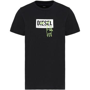 Oblečenie Ženy Tričká s krátkym rukávom Diesel A00255 0HERA čierna